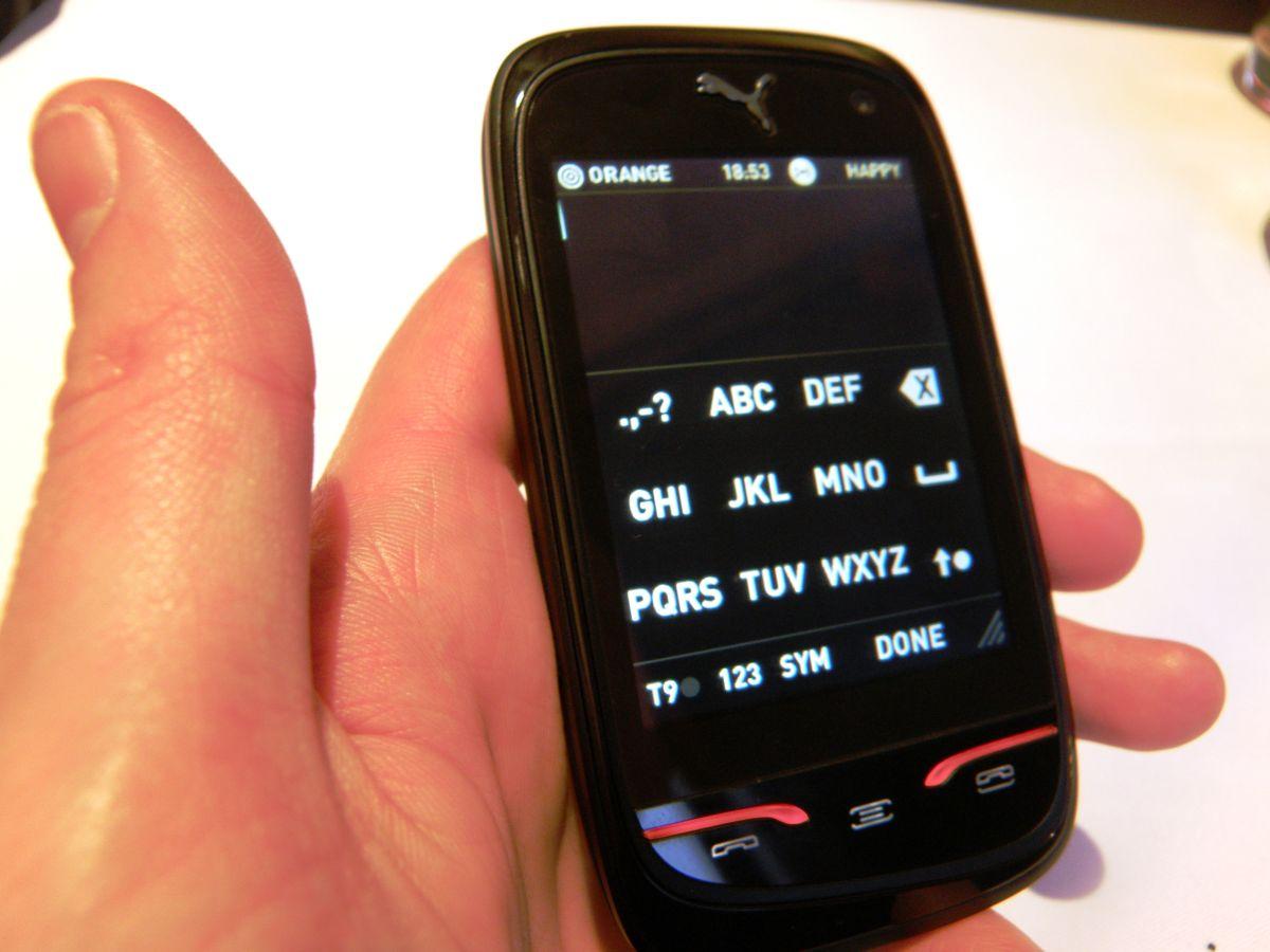 Hands On Sagem Puma Phone Review Techradar