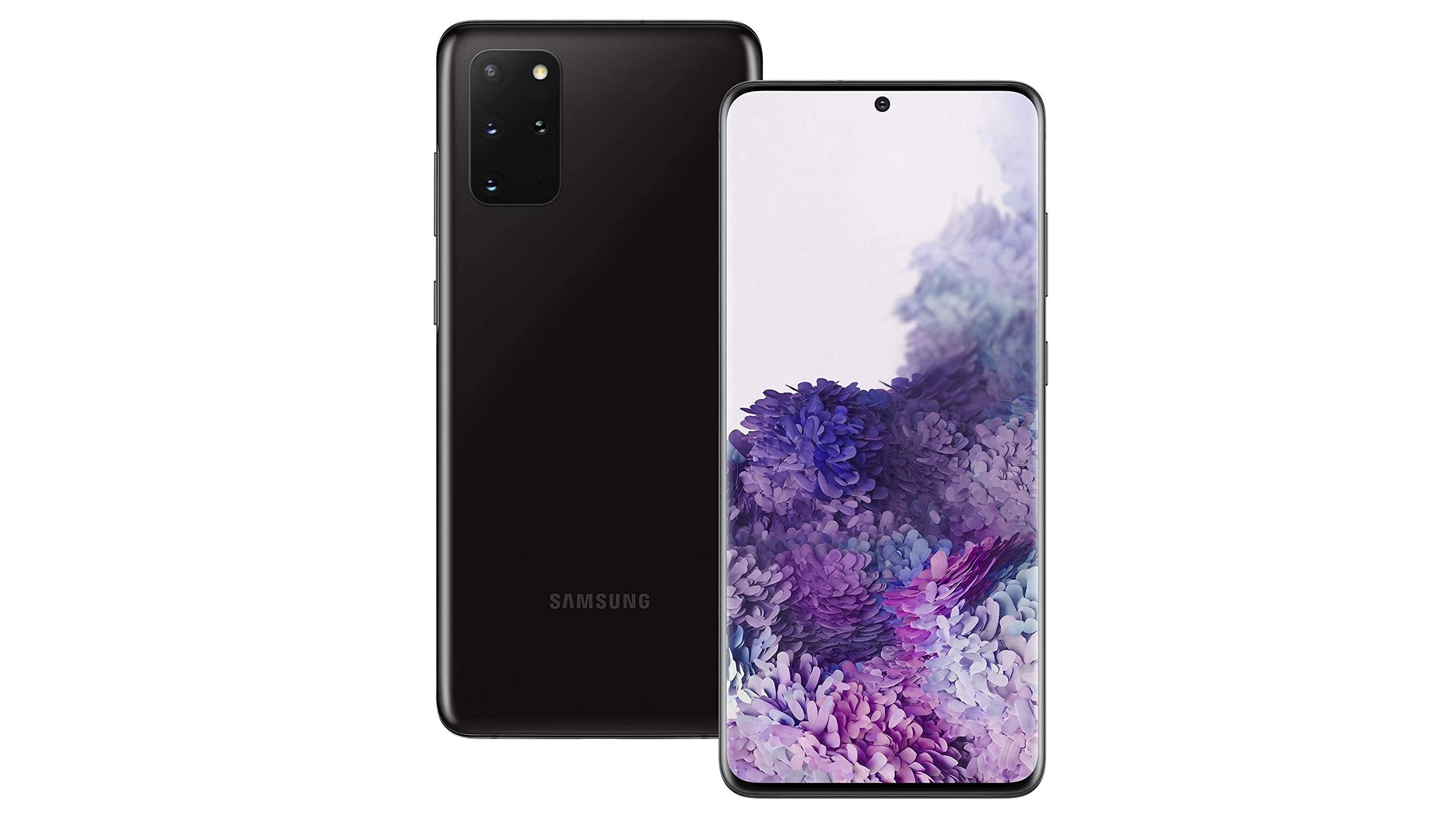 A Samsung Galaxy S20 Plus