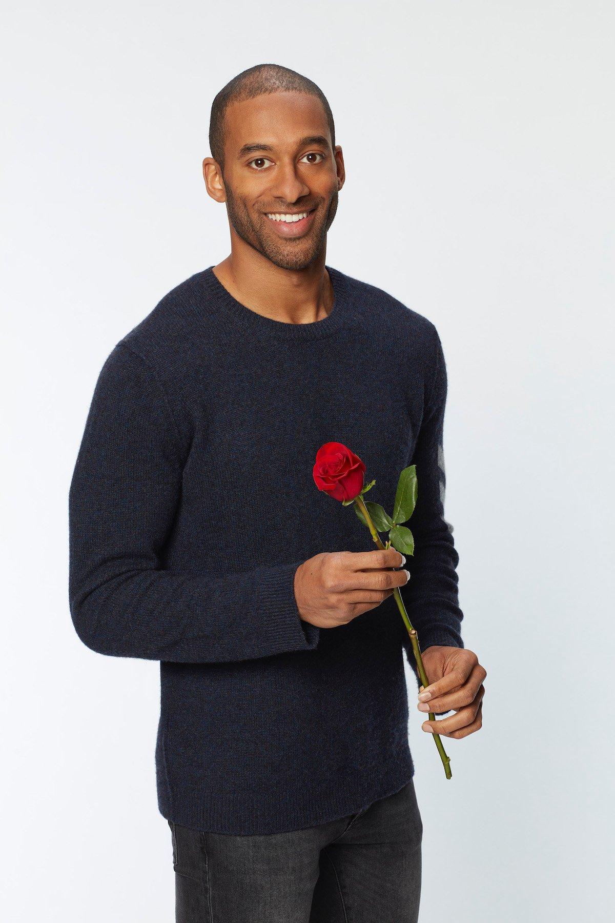 matt james the bachelor season 25 2021 abc first black bachelor