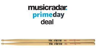 Vic Firth American Classic 5A wood-tipped drum sticks