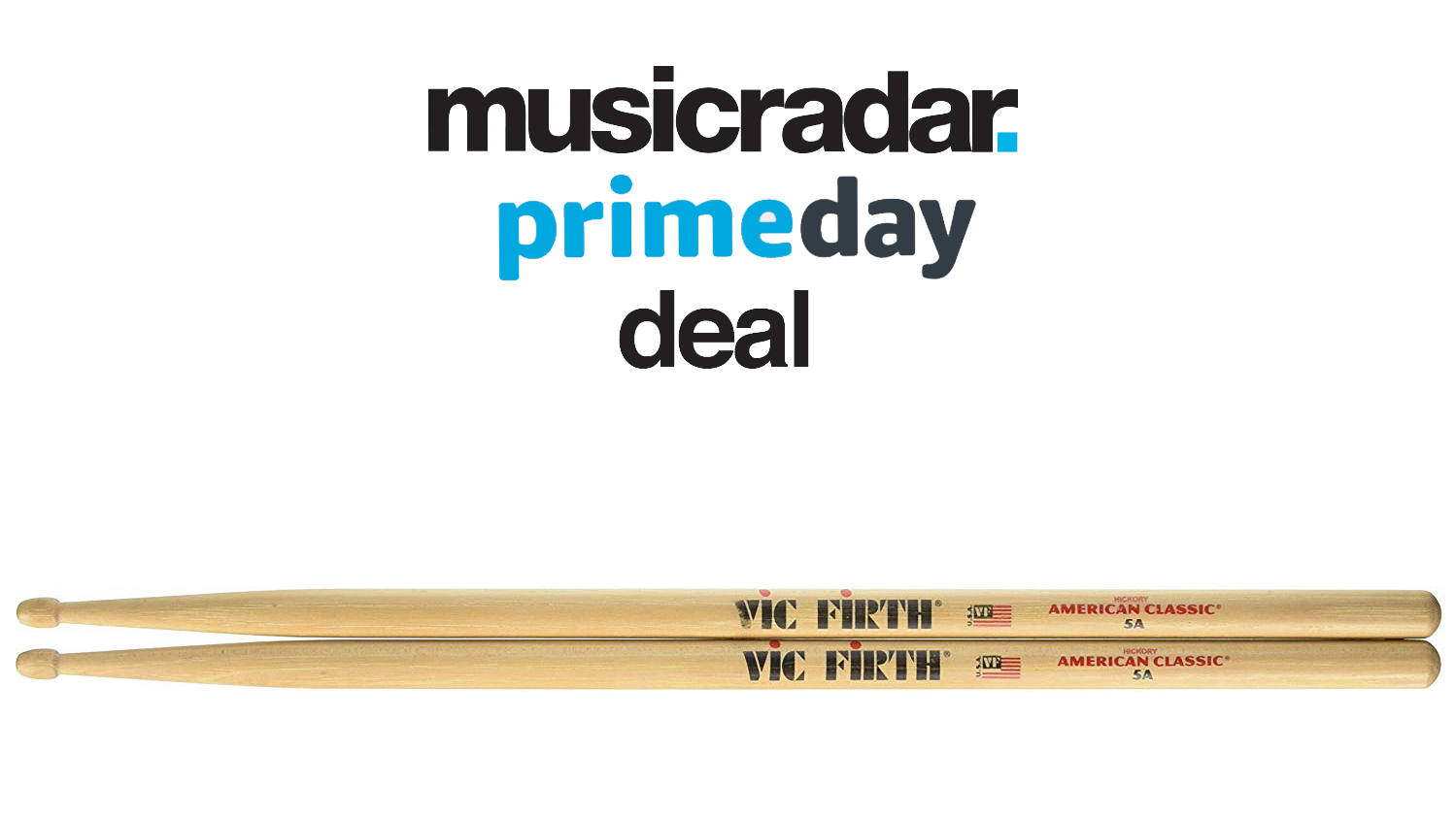 Prime Day drum deal: Vic Firth 5A drum sticks 24% off | MusicRadar