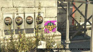 GTA 5 Monkey Mosaics