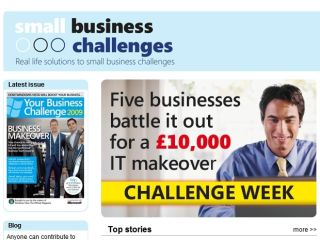 Small Business Challenges website