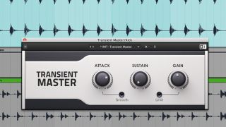 A transient designer plugin can sometimes be more precise than a compressor or limiter