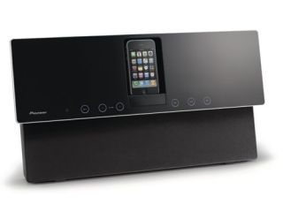 Pioneer's wall-friendly iPod dock