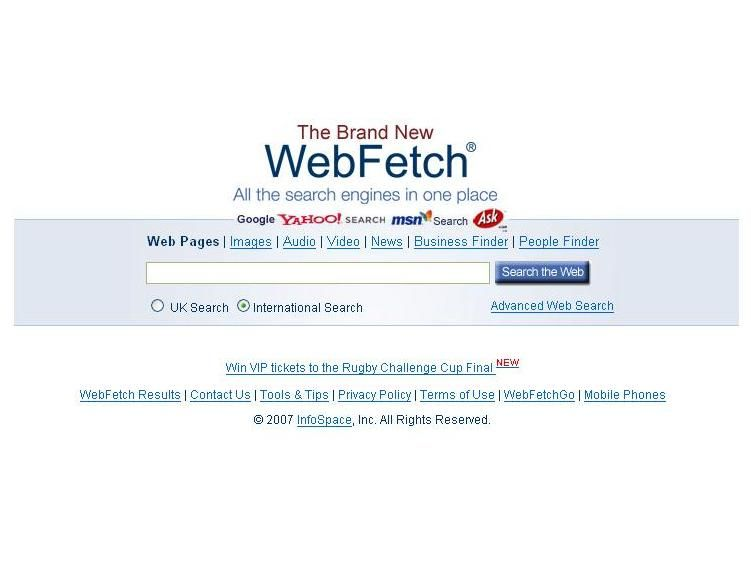 Net Search Tool Combines All Search Engines