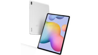 The Samsung Galaxy Tab S7 Plus will look like this