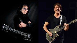 Tony Iommi and Eddie Van Halen