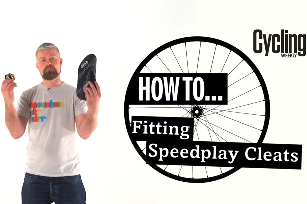 how to fit speedplay cleats