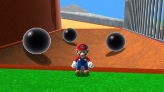Super Mario 64 HD browser