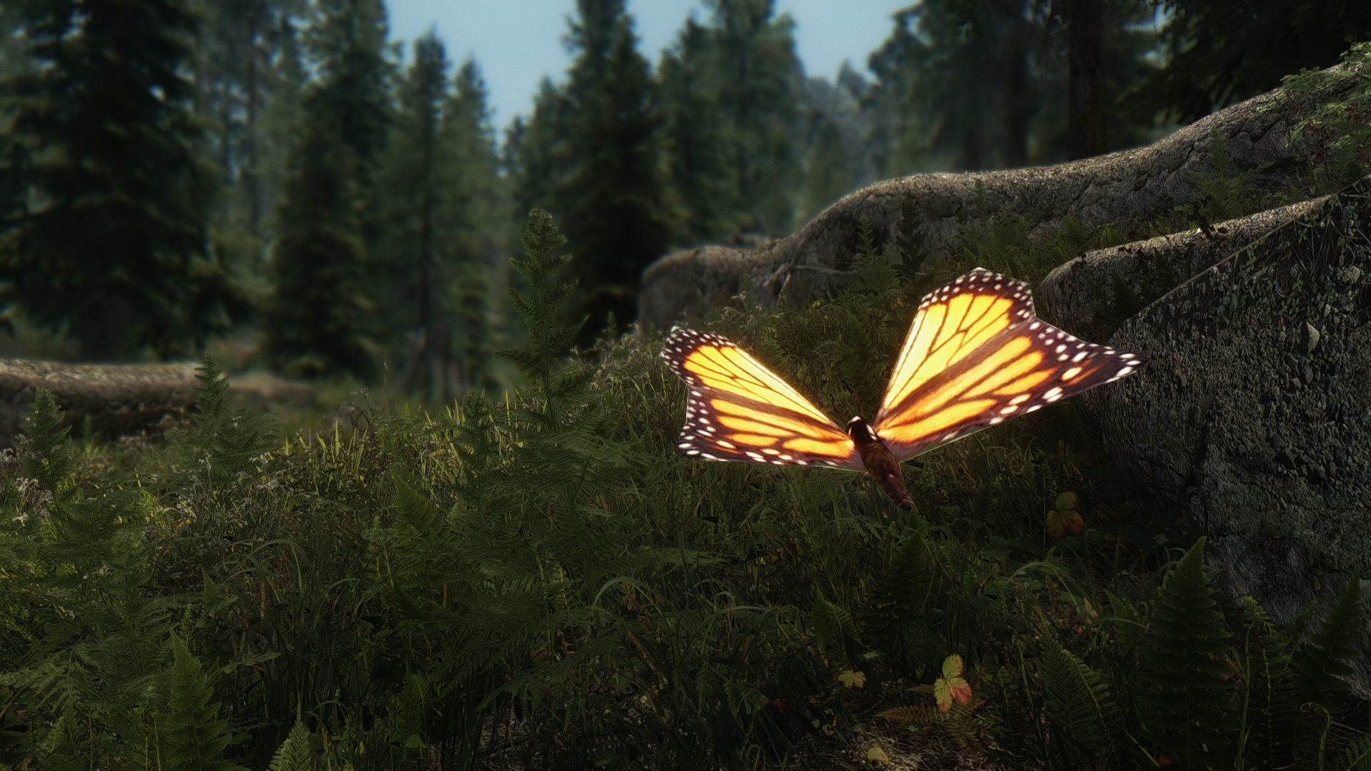 the best skyrim mods: true vision ENB
