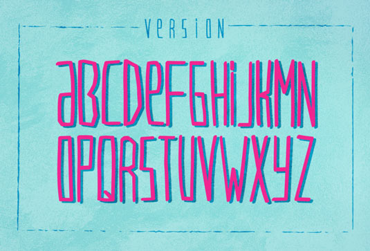 Free handwriting fonts: VersionType
