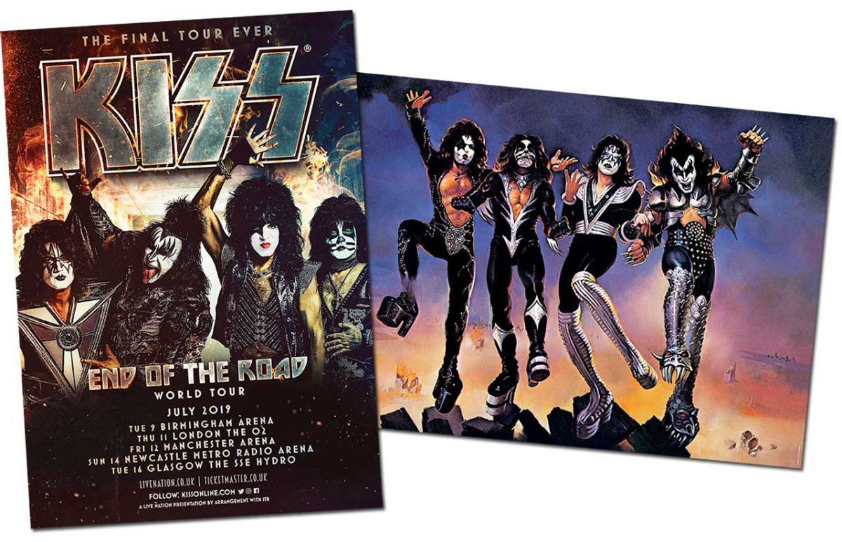 Inside Kiss's spectacular farewell tour: only in the new