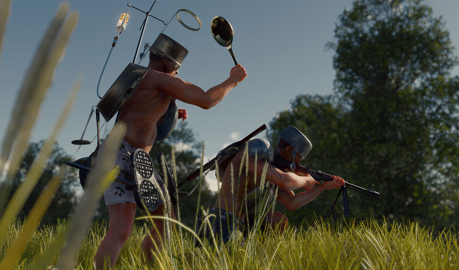 Cuisine Royale started as a joke, but it's now a fun and currently