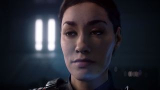 Commander Iden Versio makes a tired face.