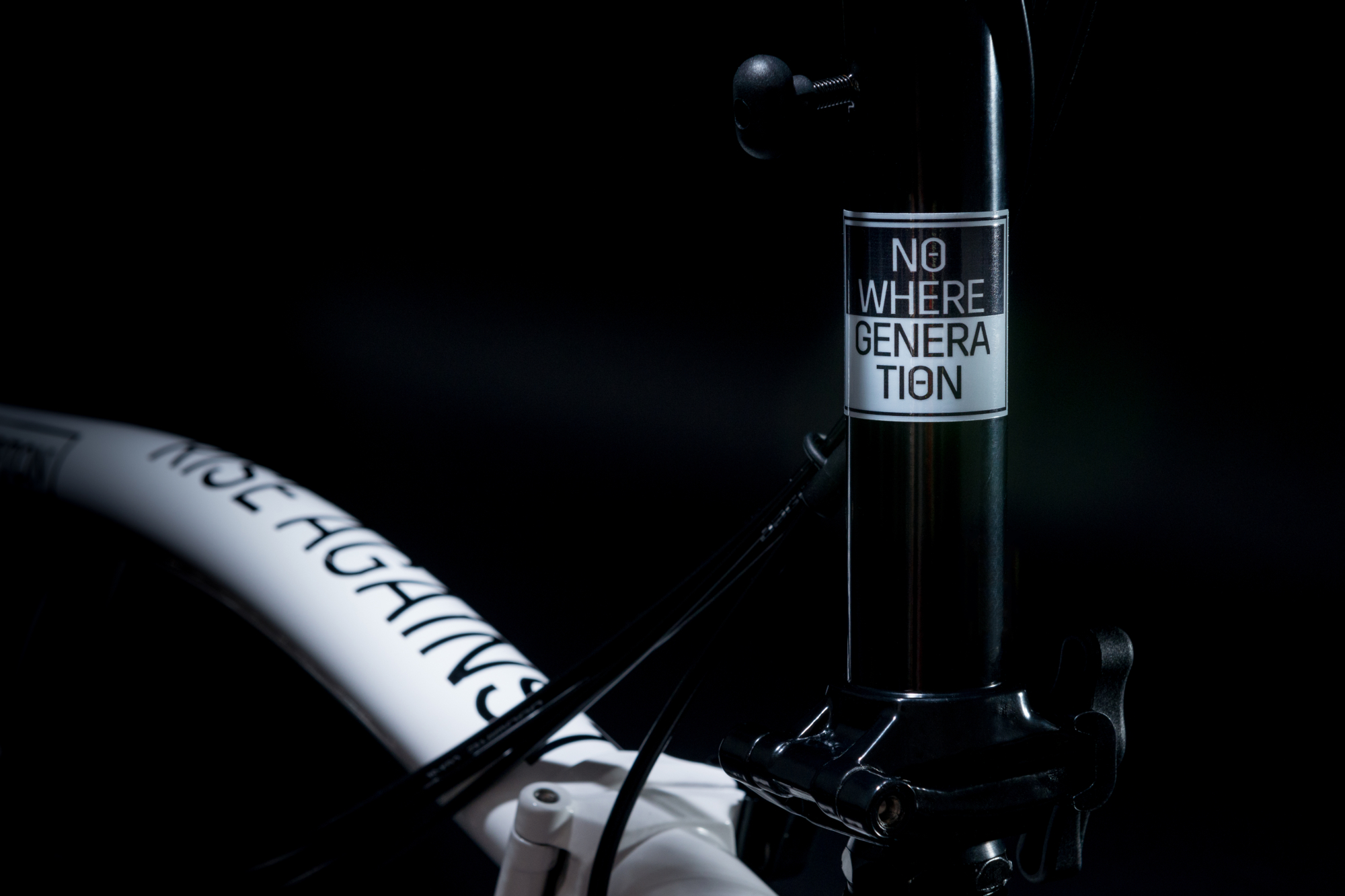 Custom Bromptons auctioned for charity: Rise Against
