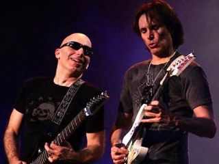 Satch and Vai team up for great music and a great cause