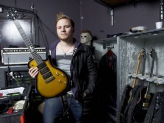 Zach Myers with his signature PRS