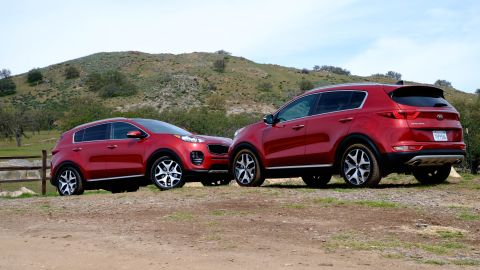 Kia Sportage Sx Turbo Audio And Driver Assists Techradar