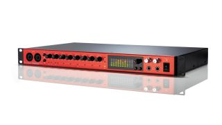 Focusrite's 8Pre interface enables you to achieve a round-trip latency level of as low as 1.67ms.