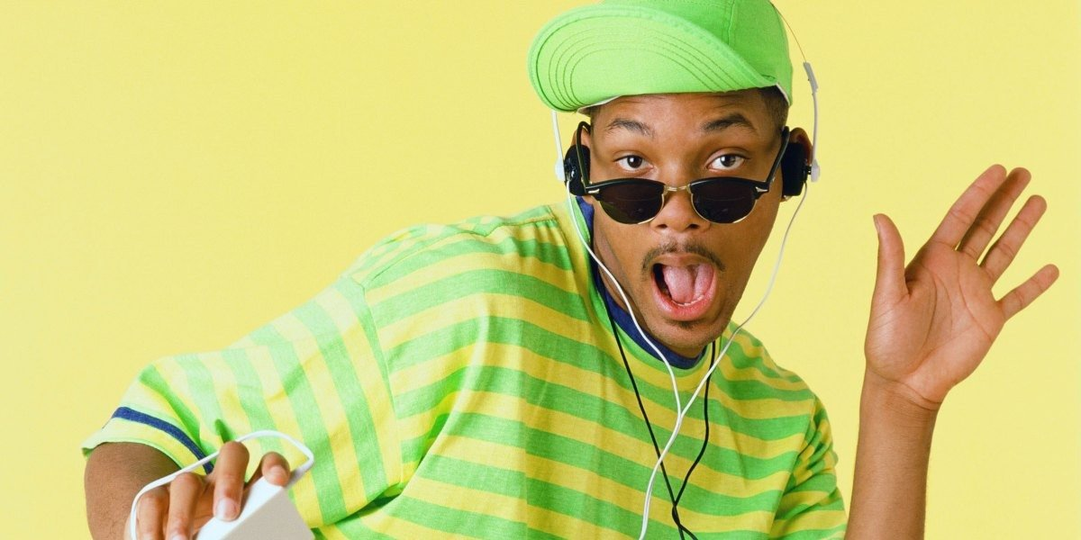Will Smith as himself for The Fresh Prince of Bel-Air