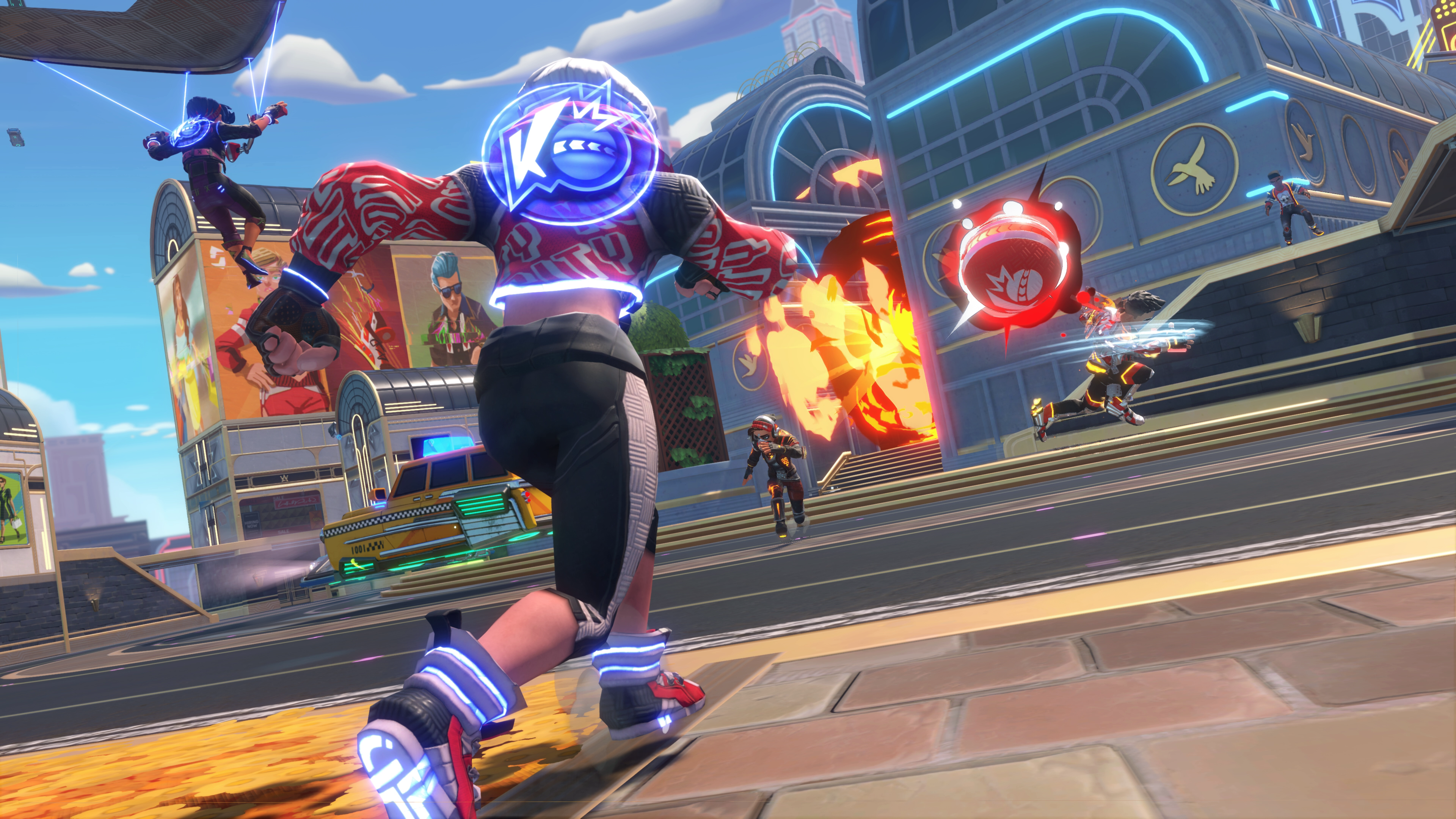Knockout City is a 3v3 online dodgeball game coming this year