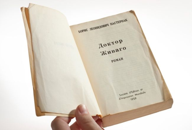 "During the Cold War, the CIA played a role in distributing the book ""Doctor Zhivago"" throughout the Soviet Union."