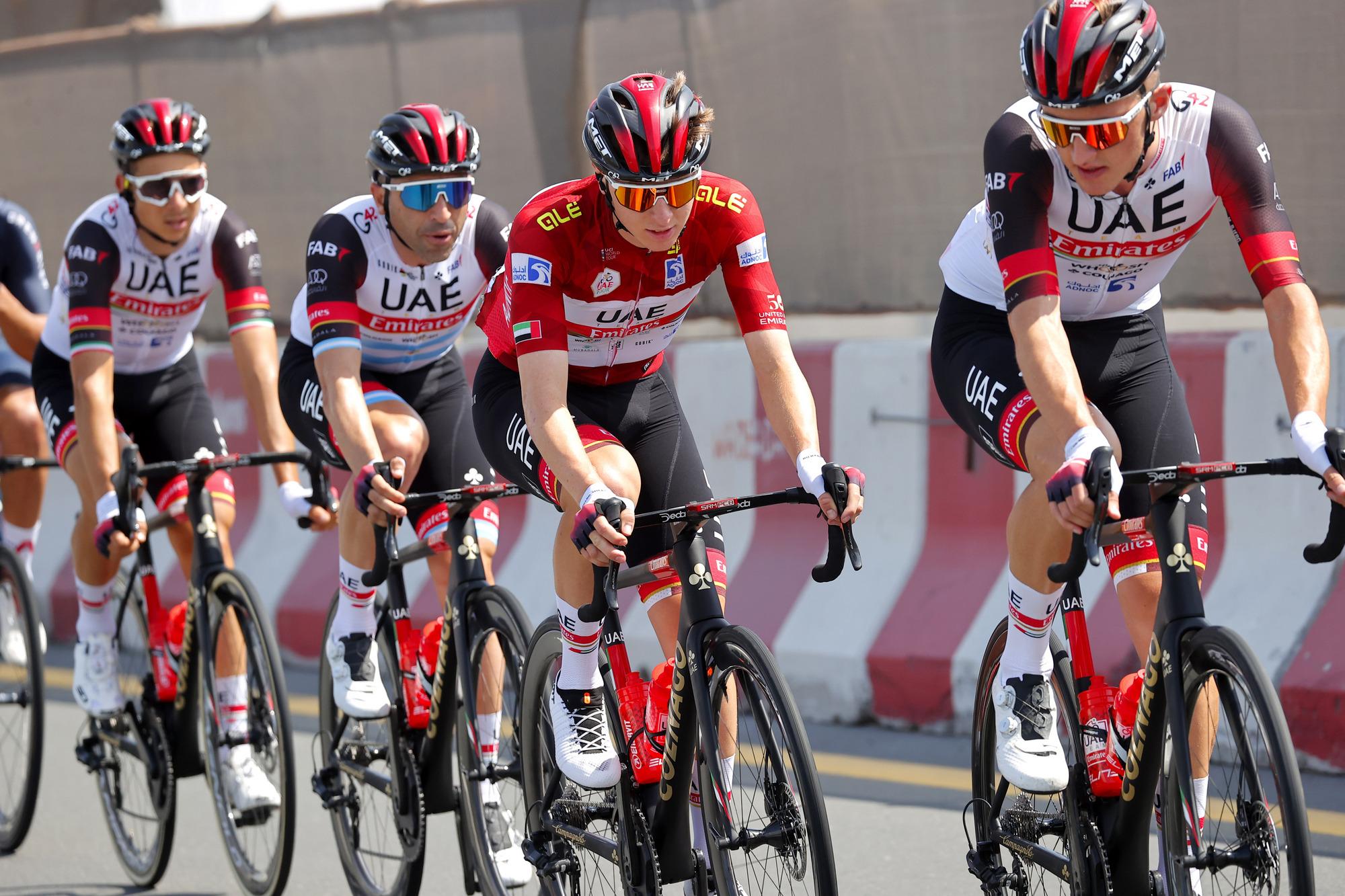 UAE Tour 2021 3rd Edition 6th stage Deira Island Palm Jumeirah 165 km 26022021 Tadej Pogacar SLO UAE Team Emirates photo Luca BettiniBettiniPhoto2021