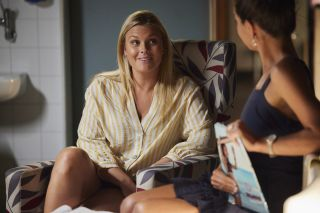 Ziggy Astoni and Mackenzie Booth in Home and Away