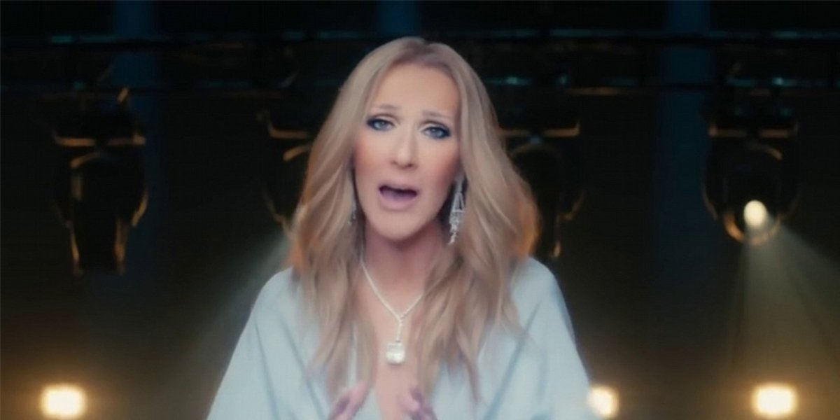 Celine Dion ashes music video