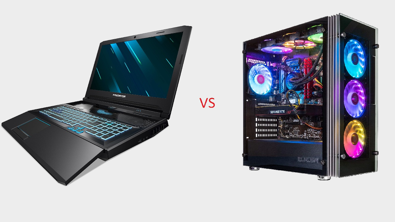 Laptops vs. desktops: how much does portability cost, and which manufacturers are providing the best value? | PC Gamer
