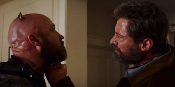 Logan < Logan stabs a dude right through the skull