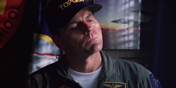 Michael Ironside as Jester in Top Gun