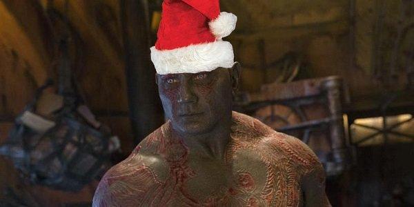 Santa Drax Avengers: Infinity War Marvel
