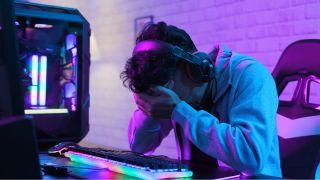 Joueur PC en détresse