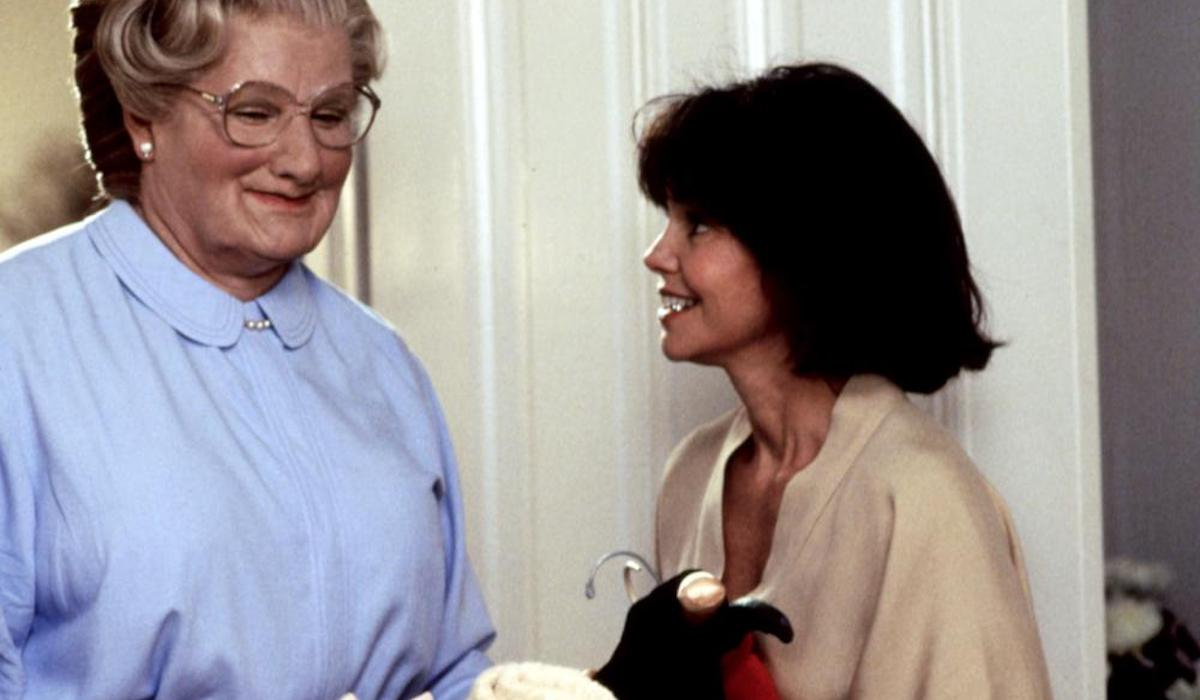 Robin Williams and Sally Field in Mrs Doubtfire