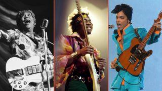 Sister Rosetta Tharpe, Jimi Hendrix, Prince