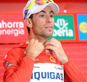 Vincenzo Nibali, Vuelta a Espana 2010, stage 19