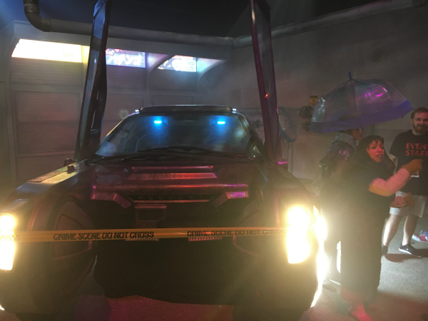 Blade Runner crashed car