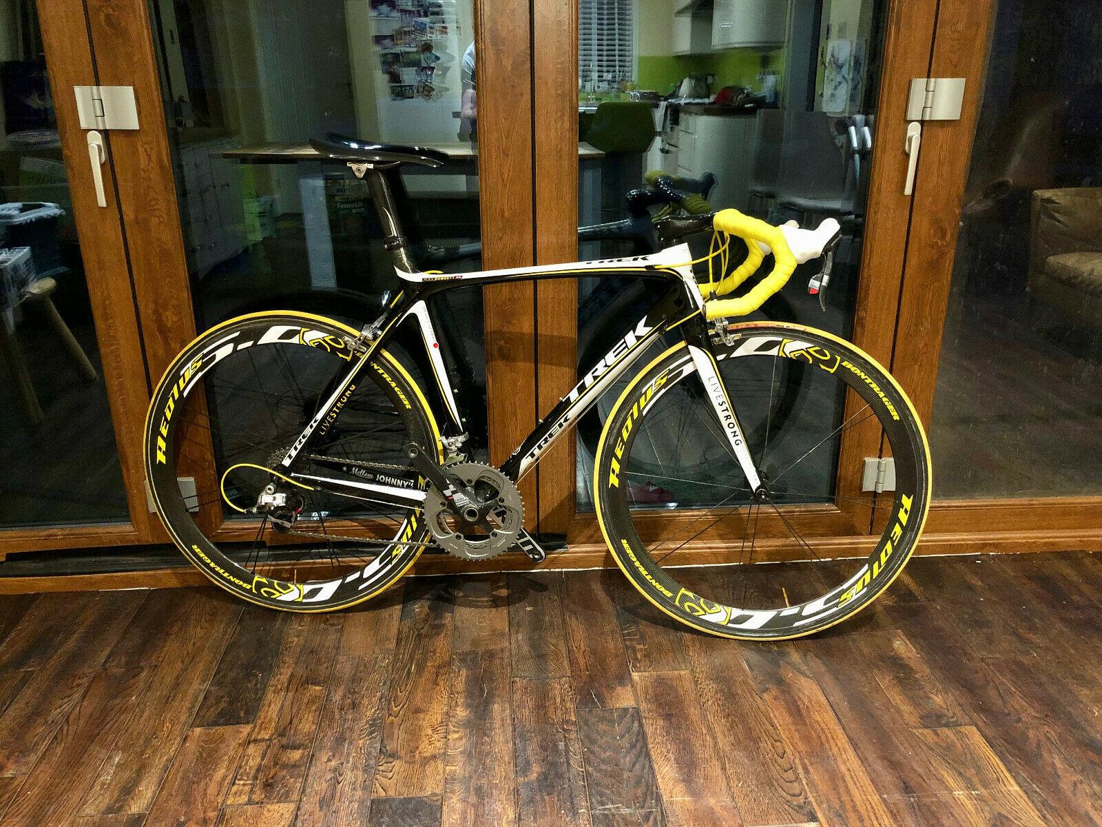 Ebay Finds Alex Dowsett S 2010 Trek Livestrong Team Trek Madone Bike Cyclingnews