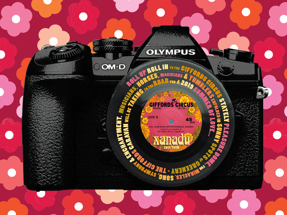 Run away to the circus with Olympus for its 100th birthday