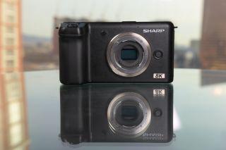 Sharp 8K Video Camera: 33MP Micro Four Thirds sensor, 10-bit 8K at