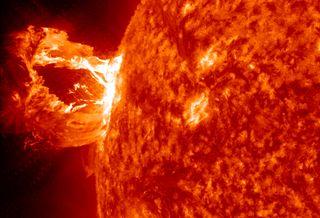Solar Flare NASA Solar Dynamics Observatoryjpg