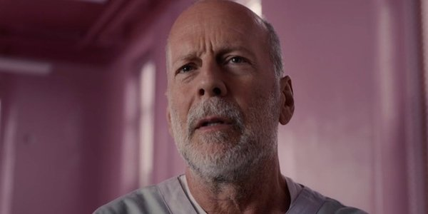 Bruce Willis as David Dunn in Glass