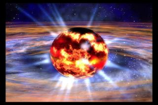 Artist's Impression of a Neutron Star