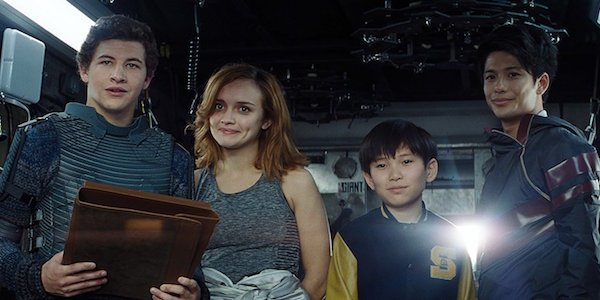 Wade, Art3mis, Sho and Daito in Ready Player One
