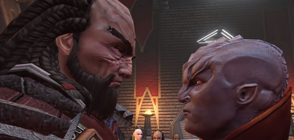 Star Trek Online: A House Divided begins the Year of Klingon
