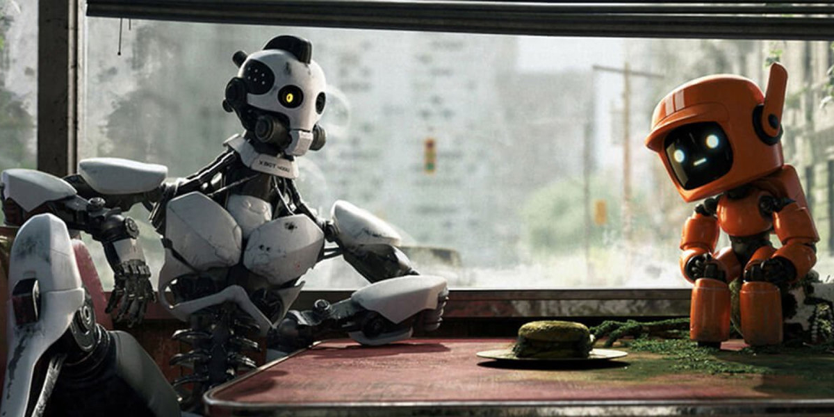 Mechanical characters from David Fincher's Love, Death & Robots