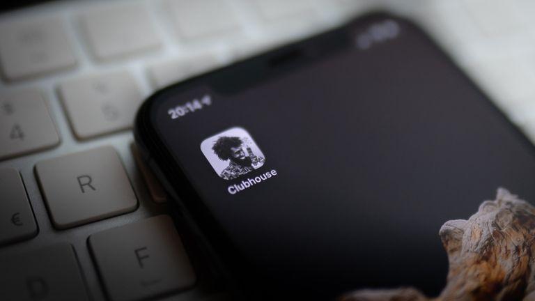 Clubhouse social media app