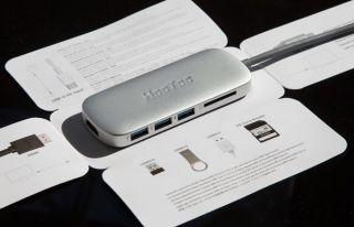 Adaptador USB C HooToo 3.1
